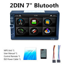 "Car 7"" Dual-definition MP5 Player Touch Screen Two Video Sync Output 1080P ISO"