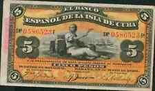 SPAIN COLONIAL  5 PESOS 1896. VF CONDITION.