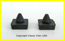 1964 65 66 67 68 69 70 71 72 Chevrolet GMC Truck Window Stop Bumpers PAIR