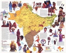 National Geographic Map - Peoples of South Asia [Map] [Jan 01, 1984] National...