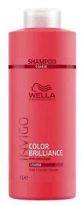 Invigo Shampooing Color Brilliance protecteur de couleur cheveux épais 1000 ml