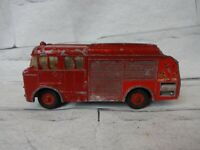 Vintage Dink Toys, 259 Bedford Miles Fire Engine, original 1960s colectable toy