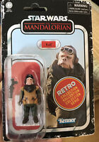 """Star Wars Retro Collection 3.75"""" Kuiil from The Mandalorian Kenner New Sealed"""