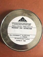 """bobine film 35 mm """" RESIDENT EVIL """""""