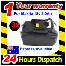 3x 18V Replacement Battery 3Ah for Makita Drill Driver Saw Makita BL1830 LXT400