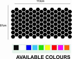 Hexagon Car wrap decal sheets