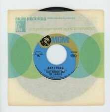 Eric Burdon And The Animals 1968 MGM 45rpm Anything b/w It's All Meat