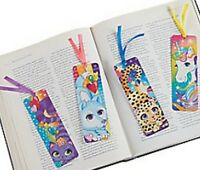 Pack of 12 - Laminated Fantasy Land Bookmarks - Unicorn Party Bag Fillers