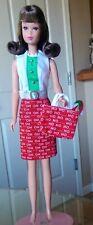 OOAK Handmade Francie Becky Twiggy Christmas Holiday Dress & Jacket Outfit