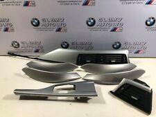 BMW 3 SERIES F30 F31 ALUMINIUM INTERIOR TRIM SET RHD OEM 9231218