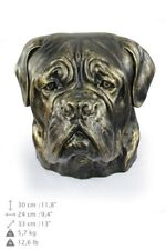 Dog de Bordeaux - dog head resin figurine, high quality, Art Dog