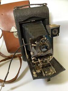 Kodak No 3 Autographic Model H Folding Camera Made In Canada