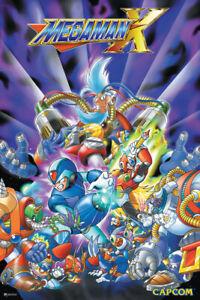 Mega Man X Cover Poster