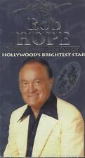 VHS:  2-VIDEO BOB HOPE HOLLYWOOD'S BRIGHTEST STAR.....NEW