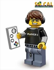 Lego Minifigures Series 12 71007 Video Game Guy - Unused Code
