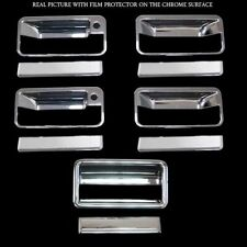 For Chevrolet C10 Pickup 1988-1998 Chrome Door Handle Cover & Tailgate Cover