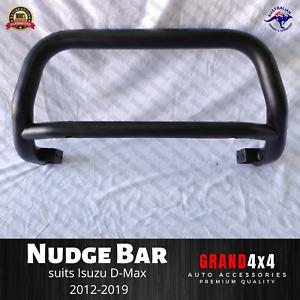 Black Steel Nudge Bar for Isuzu D-Max 2012-2019 Dmax PAINT DAMAGE READ DESC