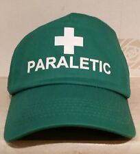 PARALETIC Printed Baseball Cap Kelly Green Funny Joke Drink Beer STAG NIGHT