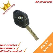 BMW 3 5 series 3 button faulty remote key REPAIR SERVICE same day service