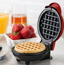 Dmw001Rd Machine for Individual, Paninis, Hash Browns, & other Mini waffle maker