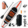 11'Inflatable Stand Up Paddle Board SUP  Surfboard with complete kit Large size