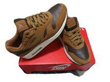 Nike Air Max 1 Premium LTR US7/UK6/EU40  ALE BROWN/GOLDEN BEIGE