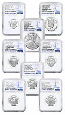 8 Coin 2019 S US Limited Edition Silver Proof NGC PF69 UC ER SKU59511