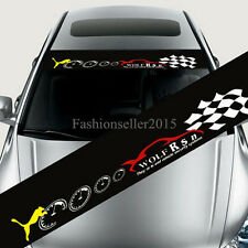 Reflective Car Styling Front Windshield Banner Decal Car Stickers Auto Modifield