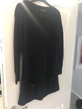 Black Saviour Jumper Dress Size 12