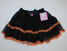 Halloween~Rock~USA~92-98~Hello Kitty~schwarz~Glitter~Hexe~Tutu~Mädchen~Neu