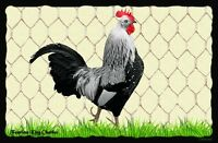 (Charles The Rooster)  WALL DECOR,  RUSTIC, PRIMITIVE, HARD WOOD, SIGN, PLAQUE