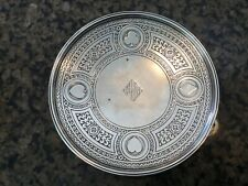 Vintage Tiffany & Co. Makers Sterling Silver Card Tray Playing Card Suits Poker