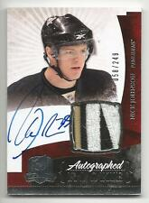 10-11 Nick Johnson The Cup Auto Rookie Card RC #135 Sweet Jersey Patch 058/249