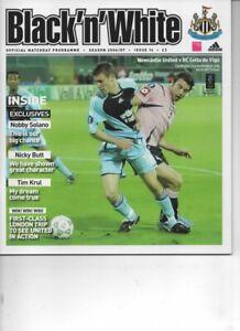 Newcastle United v Celta De Vigo 2006/07 UEFA Cup Group Match