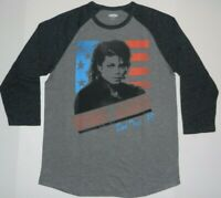 Michael Jackson Raglan Tour 1988 Vintage Nice T Shirt New