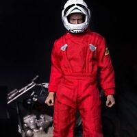 "1/6 Soldier Clothes Red Coverall Locomotive Jumpsuit Clothes/Coat Fit 12"" Figure"