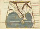Reprint Old Map - INDIAN OCEAN AND SOUTHEAST ASIA  (1478)