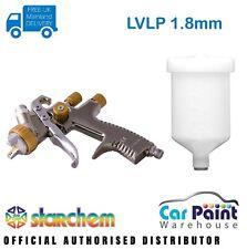 Starchem LVLP 1.8mm Spraygun Gravity Feed Professional Spray Gun for Primer