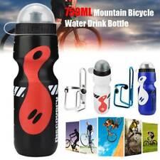 750 ML vélo de montagne Vélo Cyclisme Eau Boisson Bouteille et Porte-Cage Kit