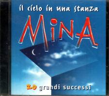 MINA IL CIELO IN UNA STANZA 20 SUCCESSI CD SEALED