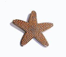 Metal Enamel Pin Badge Brooch Starfish Star Fish Ocean Sea Beach