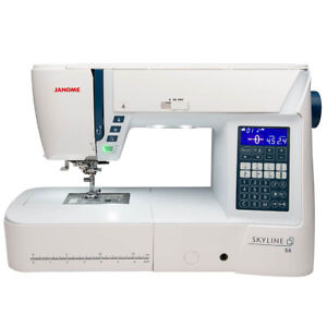 Janome Skyline S6 - Computerised Sewing Machine - 9MM, High-End, Quilting
