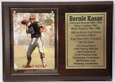 Cleveland Browns Bernie Kosar Football Card Plaque