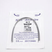 Dental Orthodontic Niti Thermal Activated Round Arch Wire Ovoid/Natural/Square