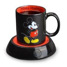 Mickey Mouse Mug Warmer Disney Coffee Cup Electric Heater Pad Portable 10 Oz Tea