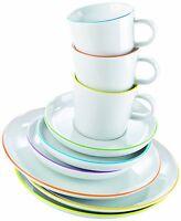 Arzberg Cucina Colori 18tlg. Kaffee Service Set Kaffeetasse Frühstücksteller NEU