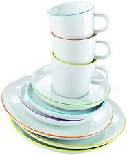 🎁🍴 Arzberg Cucina Colori 18tlg Kaffee Service Set Kaffeetasse Frühstücksteller
