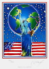 Peace on Earth, Limited Edition Lithograph, Peter Max - SIGNED with COA
