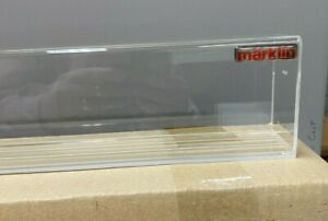 "Marklin  Acrylic Display Case by Marklin.   27 1/2"" long."