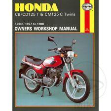 Honda CB 125 T Twin 1978-1979 Haynes Manual de reparación de servicio 0571